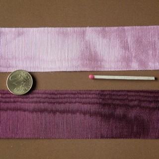 Ruban galon moirée fin souple 4 cm,