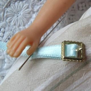Boucle miniature avec cran ceinture chaussures 1cm.