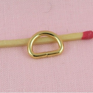 Demi anneau D boucle corset 14 mm
