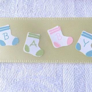 Ruban bébé chaussettes