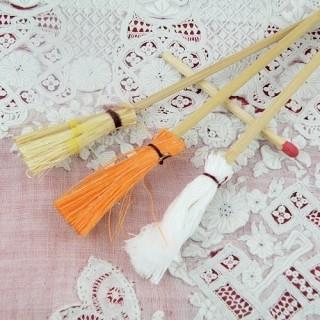 Lot de nettoyage miniature Balais, lavette,  miniature.