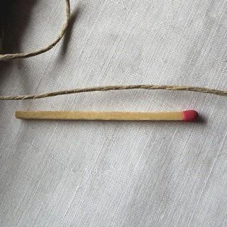 Cordon fil de chanvre 0,5 mm.