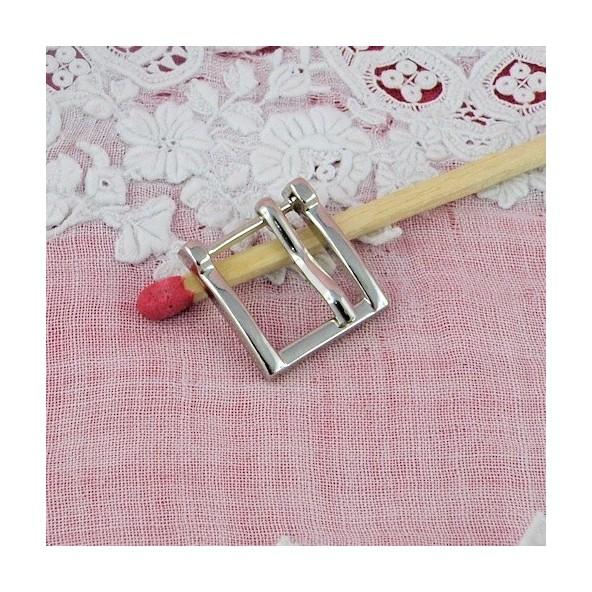 boucle carr e petite ardillon ceinture poup e 13 mm. Black Bedroom Furniture Sets. Home Design Ideas