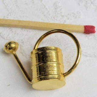 Arrosoir miniature en laiton