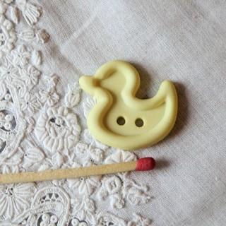 Bouton fantaisie bébé canard 2 cm.