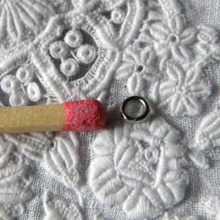 Anneau double fermeture bijoux, 5mm.