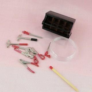 Boite àOutils miniature charpentier