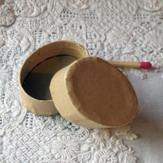 Boite carton ovale minuscule Boite rangement miniature, bijoux , 3 tailles