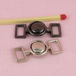 Fermoir bijouterie deux parties ceinture poupée