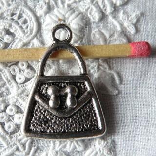 Breloque Sac àmain metal miniature