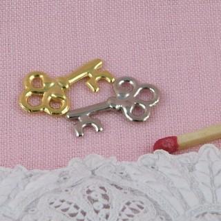breloque clé bijou miniature poupée 2 cm