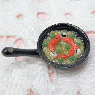 Paella miniature poupée