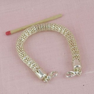 Base Bracelet maille serpent création bijoux