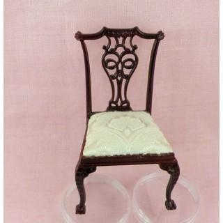 Chaise meuble miniature salon maison de poupée