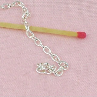 Small loop cable chain jewelry making by meter