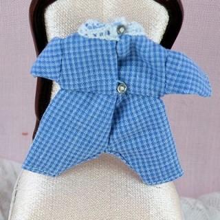 Pyjama Babygros miniature maison poupée 1/12eme