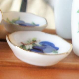 Coupe porcelaine miniature maison poupée, .