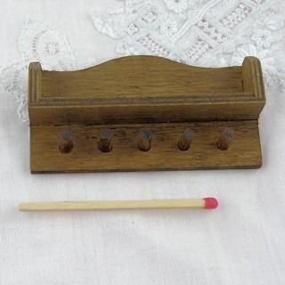 Etagère porte torchon miniature cuisine maison poupée