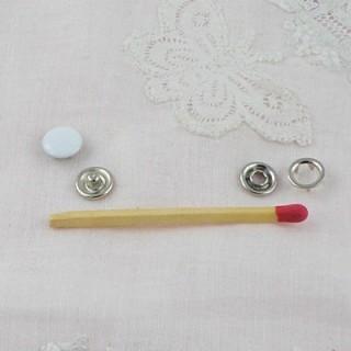 Bouton pression à griffes mini pour poupée