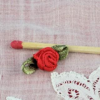Rose en ruban avec pétales 8,5 mm