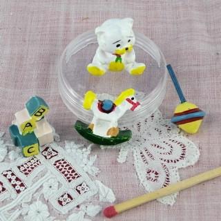 Jouets miniature poupée ensemble miniature 2 cm.