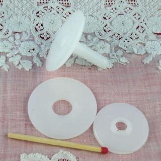 Articulation plastique ours peluche poupée 30 mm