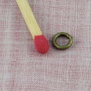 Anneau brisé fermeture bijoux 5 mm.