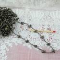 Chaîne àtiges bijouterie métal au mètre