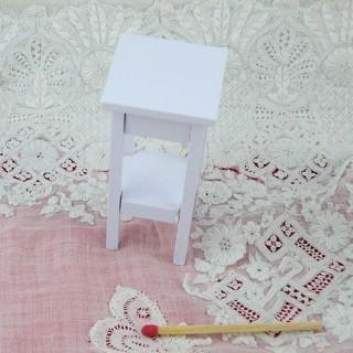 Etagère haute meuble miniature maison poupée,