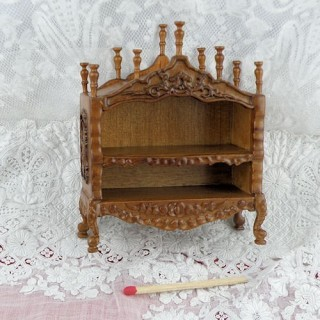 Etagère Provencale miniature maison poupée