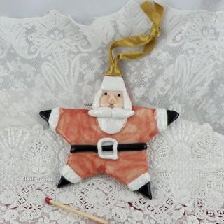 Etoile Père Noël décoration sapin