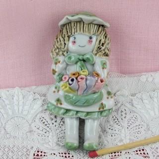 Figurine magnet décoration