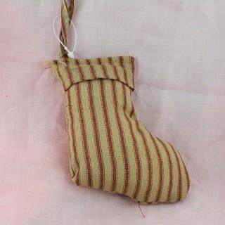 Chaussettes décoration Noël 11 cm.