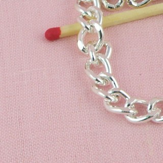 Metal chain jewelry making by meter