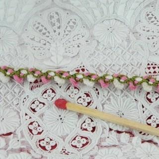 Mini galon guirlande fleurs