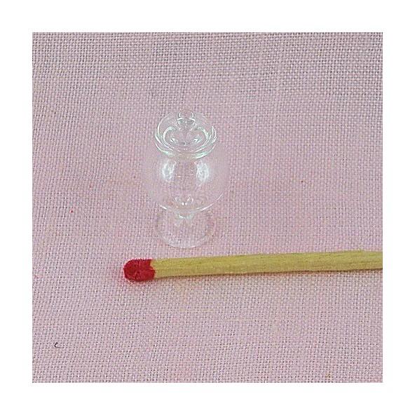 bocal en verre miniature avec couvercle 2 cm. Black Bedroom Furniture Sets. Home Design Ideas