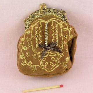 Sac àmain miniature poupée 6 cm