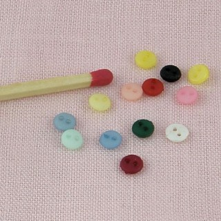 Boutons minuscules 4 mm