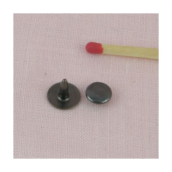 Rivet clou mercerie frapper bouton rivet simple avec - Rivet a frapper ...