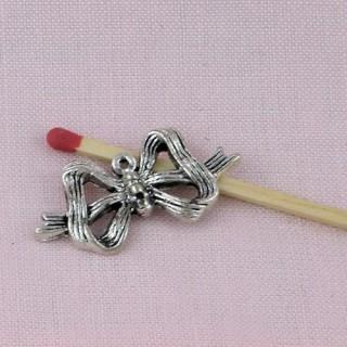 Breloque Noeud métal décoration
