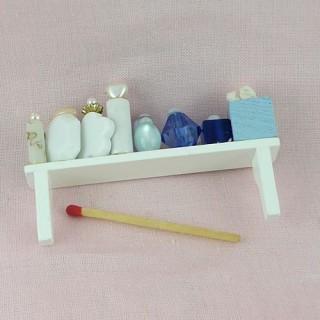 Produits beauté miniature maison poupée