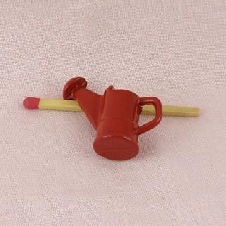 Mini Arrosoir émaillé miniature maison poupée 25 mm.