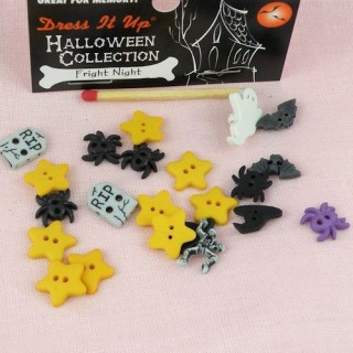 Bouton Halloween Dress it up