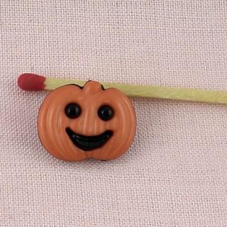 lot 4 boutons Halloween araignée, fantome.