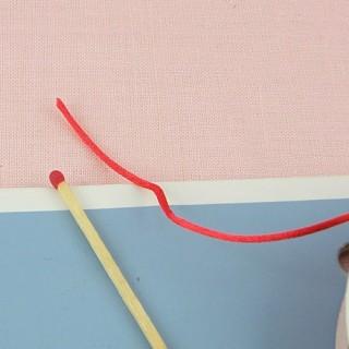 Bobine Cordon fil queue de rat 1 mm.