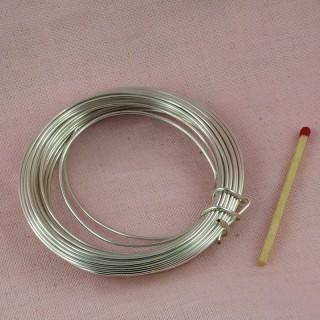 Fil métal aluminium 2 mm,