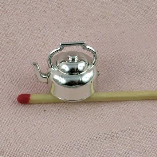 Bouilloire miniature maison poupee