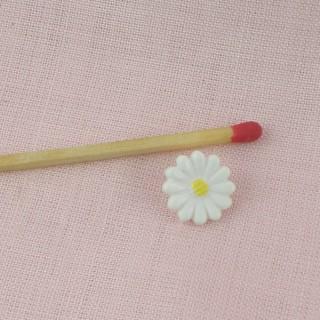 Boutons fleur marguerite 1 cm,