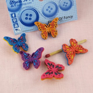 Boutons Dress it Up Papillon