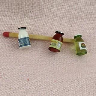 pots sauce miniature maison poupée